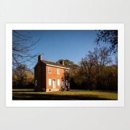 The Gordon House - Natchez Trace Art Print