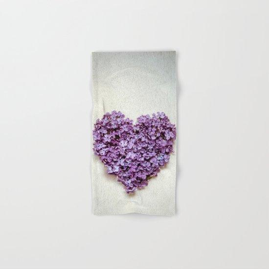 Summer Heart Hand & Bath Towel