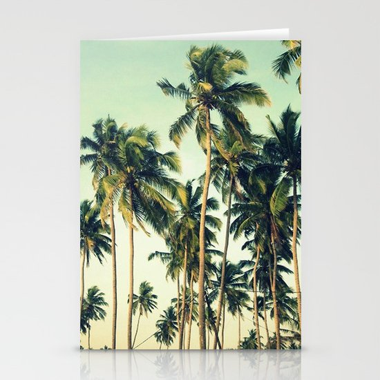 Paradise Print Stationery Cards