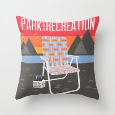 Park & Recreation Throw Pillow