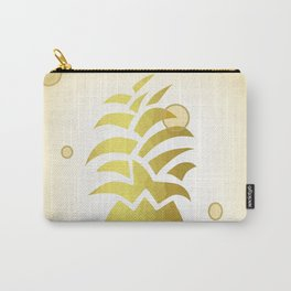 Golden Pineapple Decor -Fruit -Food Carry-All Pouch