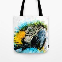 Guacamaya in watercolor Tote Bag