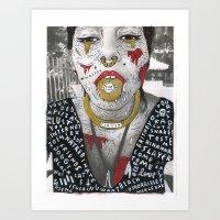 HIDE YOUR KIDS Art Print