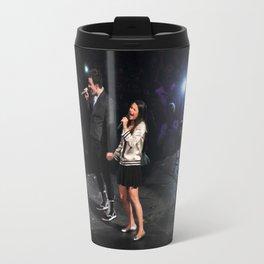 Glee Concert: Lea Michele and Chris Colfer Travel Mug