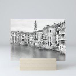 A view of Venice from Rialto Bridge Mini Art Print