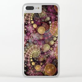 Magical dream, fractal abstract Clear iPhone Case