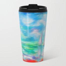 Emerald Morning Travel Mug