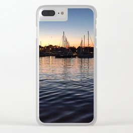 Sunset over Annapolis Clear iPhone Case