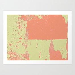 Bright & Pink Art Print