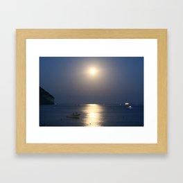 blue moon 4571 Framed Art Print