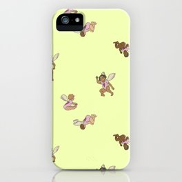 Cupid Legion pattern iPhone Case