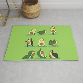 Avocado Yoga Rug