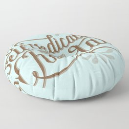 Chocolate RX Floor Pillow