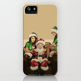 Santa's Little Helpers (Merry Christmas) iPhone Case