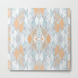 Tribal Dimond Metal Print