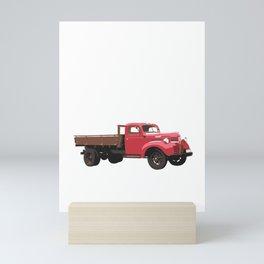 I'm Trucked Screwed Up Crazy Farmer Farming Truck Mini Art Print