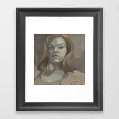 Carter Framed Art Print