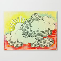 Lush Sunshine Canvas Print