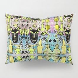 Bubbling Magic Potion & Black Cat Pillow Sham