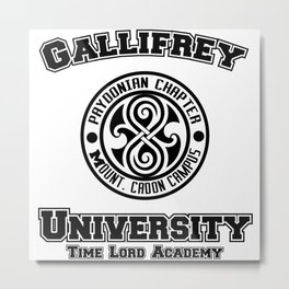 Gallifrey University Metal Print