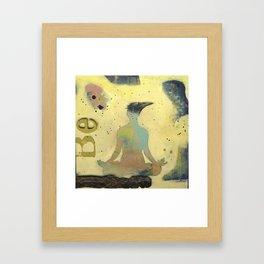Be2 Framed Art Print