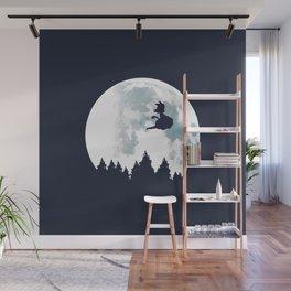 The Moon on Dragon Ball Wall Mural