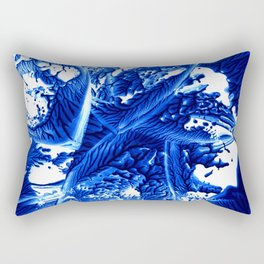 Rhapsody in Blue Rectangular Pillow