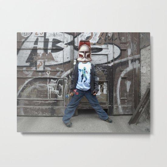 StarWars Kid 1 Collage Metal Print