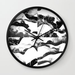 Mountains of Nippon Wall Clock