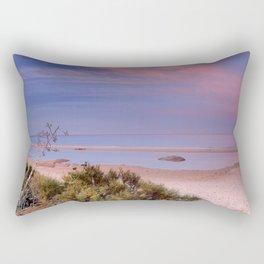 """""""Tarifa"""". Atlantic Ocean beach Rectangular Pillow"""