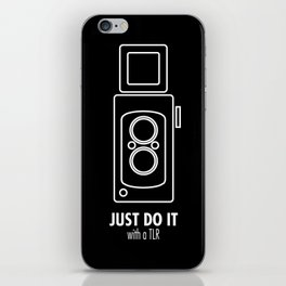 Just do it with a TLR iPhone Skin
