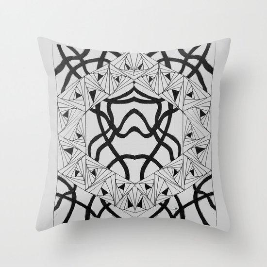 Paradox Ribbon Throw Pillow