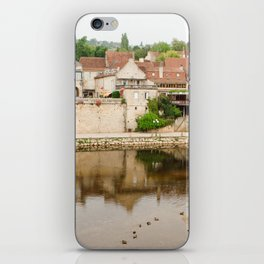 On the Banks of the Vézère River iPhone Skin