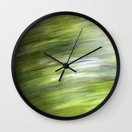 Rainy Day Motion 1 Wall Clock