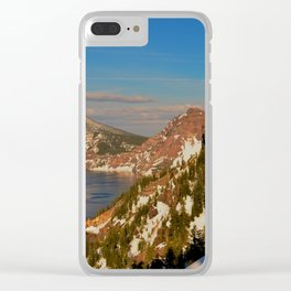 Crater Lake - Spring II Clear iPhone Case