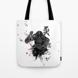 Darth in Dark Tote Bag