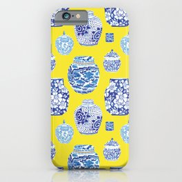Chinoiserie Ginger Jar Collection No.2 iPhone Case