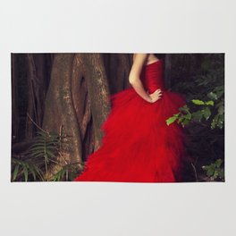 Lady in the Red Dress Rug