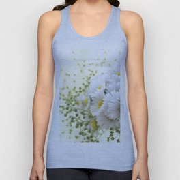 Bouquet of daisies in LOVE - Flower Flowers Daisy Unisex Tank Top