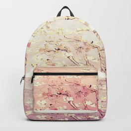 Vincent Van Gogh : Almond Blossoms Panel ART Backpack