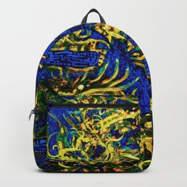 Psyesquivel 02 seaweed Backpack
