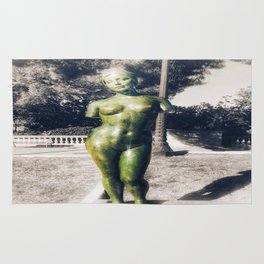 The Naked Statue Rug