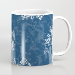 Smoked Fish, Blue Coffee Mug