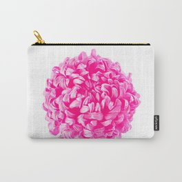 Pink Pop Art Inspired Flower Carry-All Pouch
