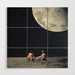 I Gave You the Moon for a Smile Wood Wall Art