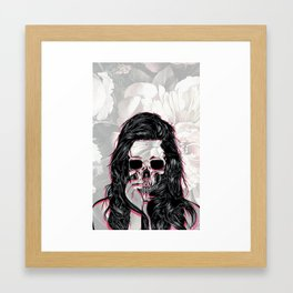 Skull Manipulation Framed Art Print