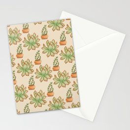 Wax Agave & Jade Plant Stationery Cards