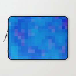 Re-Created Colored Squares No. 60 by Robert S. Lee Laptop Sleeve