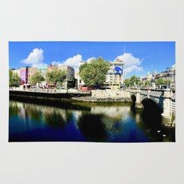 River Liffey, Dublin Pamorimic Rug