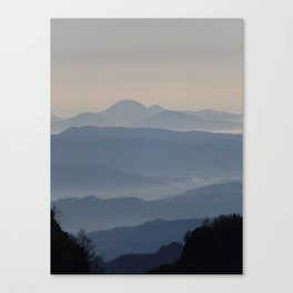 Blue hills 2 Canvas Print